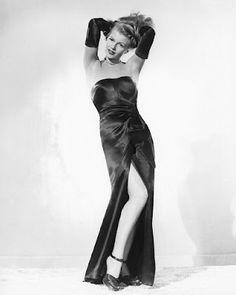 Rita Hayworth gown