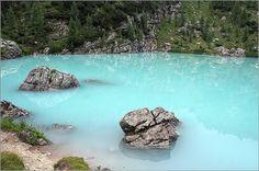 Lake Sorapiss, Dolomites Italy