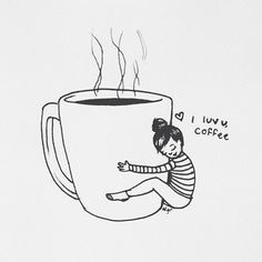 Image shared by Mikasa Akerman. Find images and videos about text, coffee and i love coffe on We Heart It - the app to get lost in what you love. Coffee Girl, I Love Coffee, My Coffee, Coffee Drinks, Morning Coffee, Coffee Shop, Coffee Cups, Coffee Maker, Funny Coffee