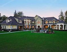 Luxurious Shingle-style Home Plan