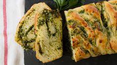 Braided Garlic Bread