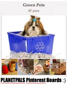 Green Pet Ideas, Tips, DIY, Eco friendly and Non Toxic