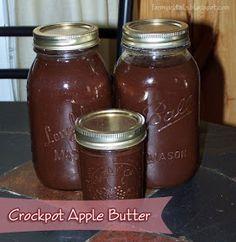 Farm Girl Tails: Crockpot Apple Butter