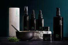 BerezkaLab cosmetics packaging on Behance