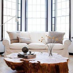 Mesa de centro rústica - em madeira maciça - Loja de Móveis de Madeira Maciça. Moveis Rusticos