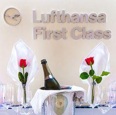 Lufthansa First Class A330-300: Vancouver to Munich