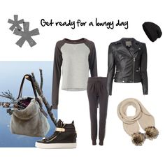 """""""Luxury loungewear"""" by ayla-kroet on Polyvore"""
