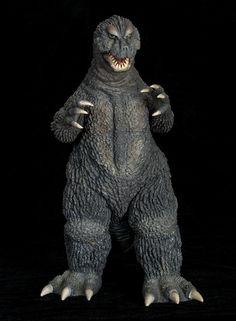 X-Plus Godzilla 1964 vinyl figure. Godzilla Toys, Japanese Monster, Dragon's Lair, Kraken, King Kong, Vinyl Figures, Hanging Out, Vintage Toys, Monsters