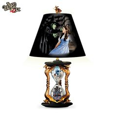 The Wizard Of Oz Hourglass Of Destiny Lamp!! This thing is sweet!