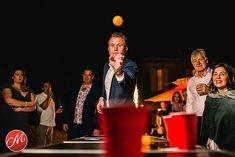 Very happy to have just won an award for this image with @mastersofweddingphotography  This was taken during a game of beer pong at Sarah and Richards wedding at Chateau de Lacoste in France.