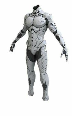 ¿Exoesqueleto o armadura? - ¿Exoesqueleto o armadura? Suit Of Armor, Body Armor, Fantasy Armor, Sci Fi Fantasy, Armor Concept, Concept Art, Character Concept, Character Art, Armadura Cosplay