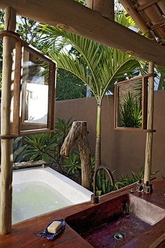 Best Tropical Bathrooms Images On Pinterest Room Outdoor