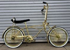 "Lowrider Dragster Bike Royal Series 20"" Complete Kit Bicycle Metallic Gold"