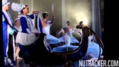 Moscow Ballet's Great Russian Nutcracker features a Troika Sleigh