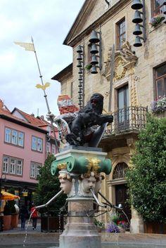 """Als """"die blühendste Stadt Europas"""" wird Bad Langensalza bezeichnet, auf Werbeflyern ist sie die """"Kur- und Rosenstadt"""". Warum? Bad Langensalza, Statue Of Liberty, Wanderlust, Europe, Blog, City, Vacation, Pictures, Statue Of Liberty Facts"""