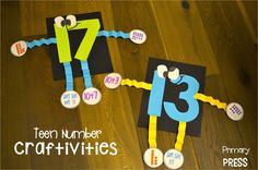 I can't wait to assess number knowledge with these cutie craftivities!!