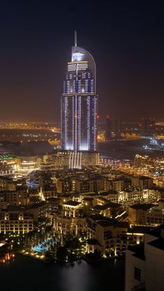 ~~Full Moon   nightscape, view from the Dubai marina   by Björn Witt~~   City ~ Beyond the Neon ...