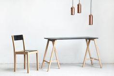 Copper Lighting Trend - Steven Banken Copper Lamp
