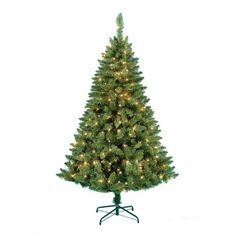 1.8m Pre-lit Nova Scotia Pine