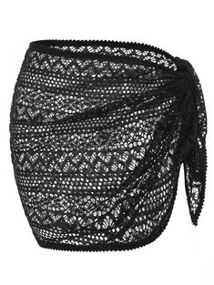 Openwork Solid Cover Up Skirt Source by ivetteprosper cover up teens Bathing Suit Skirt, Bathing Suits, Skirt Suit, Skirt Midi, Bikinis For Teens, Vintage Swimsuits, Swimsuit Cover Ups, Swim Cover, One Piece Swimwear