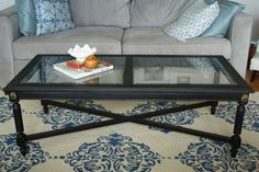 Chic Black Coffee Table (that is going to live with me) - Primitive and Proper