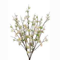 FloristryWarehouse Artificial Apple Blossom Bush Pink 28.5 Inches >>> Read more  at the image link.