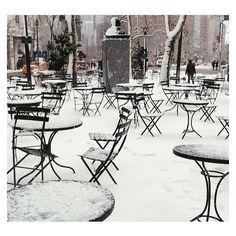 WINTER WONDERLAND || 65th and Broadway... #SchoellerDarlingDesign #Winter #NYC #Design #Inspiration #Luxury