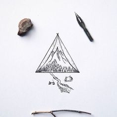 Tiny drawing by @xoseroi #designspiration #creative #illustration - View this on http://ift.tt/1LVCgmr