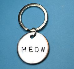 Cat lover Cat person Meow Cat lover gift by BeesHandStampedGifts