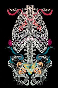 SkeletON by Andon Georgiev - AndonastY, via Behance