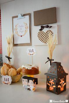 Bodas de Trigo #BlogNossasBodas #bodasdetrigo (5) Diy Home Decor, Cake Decorating, Holiday Decor, Flowers, Design, Wedding Clutch, Marriage Anniversary, Gypsy Party, 30 Years