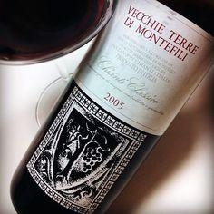 Odori Terziari: Chianti Classico 2005 - Vecchie Terre di Montefili #wine #vino #label #packaging #design
