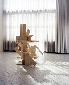 Ryan Gander / Rietveld Reconstruction, 2006