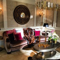 Roberto Cavalli Luxury  Furniture #CasaCollezioni #RobertoCavalliHomeMiami Versace Home, Luxury Home Decor, Roberto Cavalli, Luxury Furniture, Furniture Design, Living Rooms, Sitting Rooms, Lounges, Family Rooms
