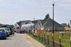 A new driveway being poured for a home at Summerwind Plantation.