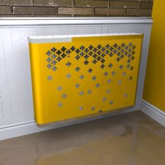 YOYO Fall in Yellow Radiator Cover