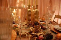 Reveillon Cobre- CopperDecor- Editorial Natal- Home Decor- Decoração Festas- Mesas Decoração- Natal