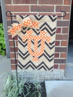 University of Texas College Burlap Garden Flag by RKCreativeDesign, $17.00