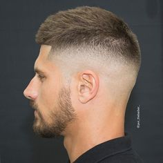 Hairstyles For Men With Short Hair Short Hairstyles For Men  Mid Fade Httppyschomamitumblr