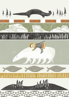 Arte Inuit, Inuit Art, Design Blog, Indigenous Art, Native Art, Children's Book Illustration, Art Drawings, Creations, Artwork