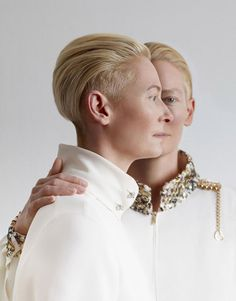 Art of Fashion, Tilda Swinton by Jean-Baptiste Mondino for Madame...