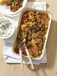 Spanish-style Chicken Paprika - The Happy Foodie