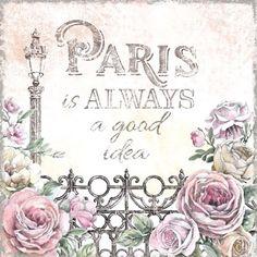 Paris Roses IV by Beth Grove art print