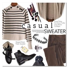 """""""Casual Sweater"""" by oshint ❤ liked on Polyvore featuring Woolrich and Chanel"""