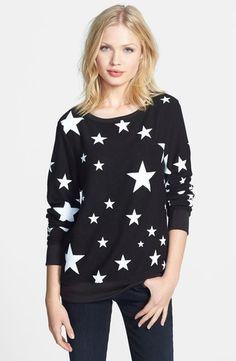 Wildfox Disco Stars Pattern Sweater