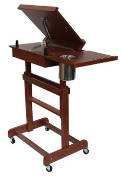 Blick carries a wide variety of studio easels for all types of painting. Art Studio Design, Art Studio At Home, Plein Air Easel, Drawing Desk, Studio Table, Art Studio Organization, Small Space Interior Design, Funky Furniture, Furniture Ideas