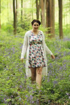 As seen on // Steph of style blog Stephanie Dreams - Aurora Floral Dress Image
