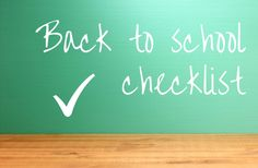 Back To School Checklist - 10 steps you can take to make sure you and the kids head back to school organised Back To School Checklist, Back To School Organization, How To Plan, Kids, Young Children, Boys, Children, Boy Babies, Child