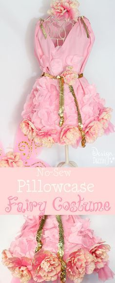 Can you believe this costume started as a pillowcase? Dollar store items were…