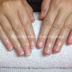 Natural looking nail extensions with Bio Sculpture Gel